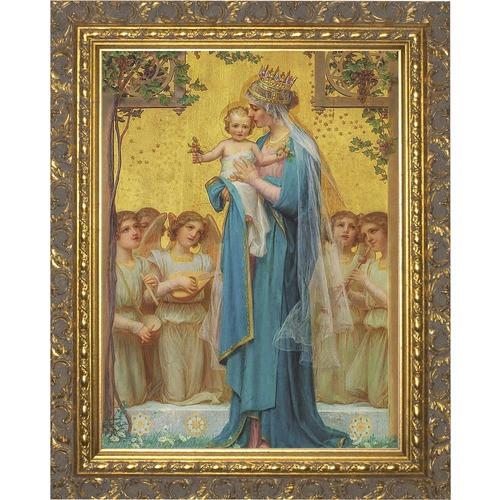 Madonna and Child by Vidal Ornate Gold Framed Art