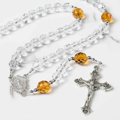 November Birthstone Rosary