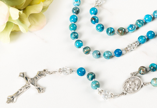 Shop Rosaries for First Communion, Confirmation, Mother's Day, Weddings, & more!