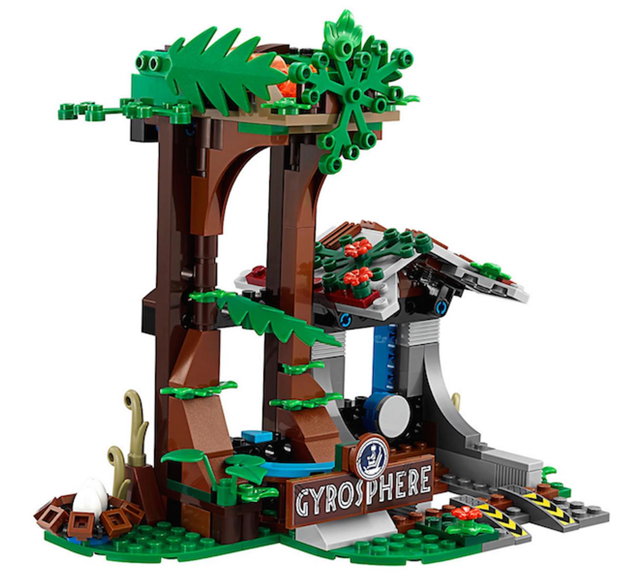 75929 World Lego Gyrosphere Carnotaurus Jurassic Escape eHDIWYE29