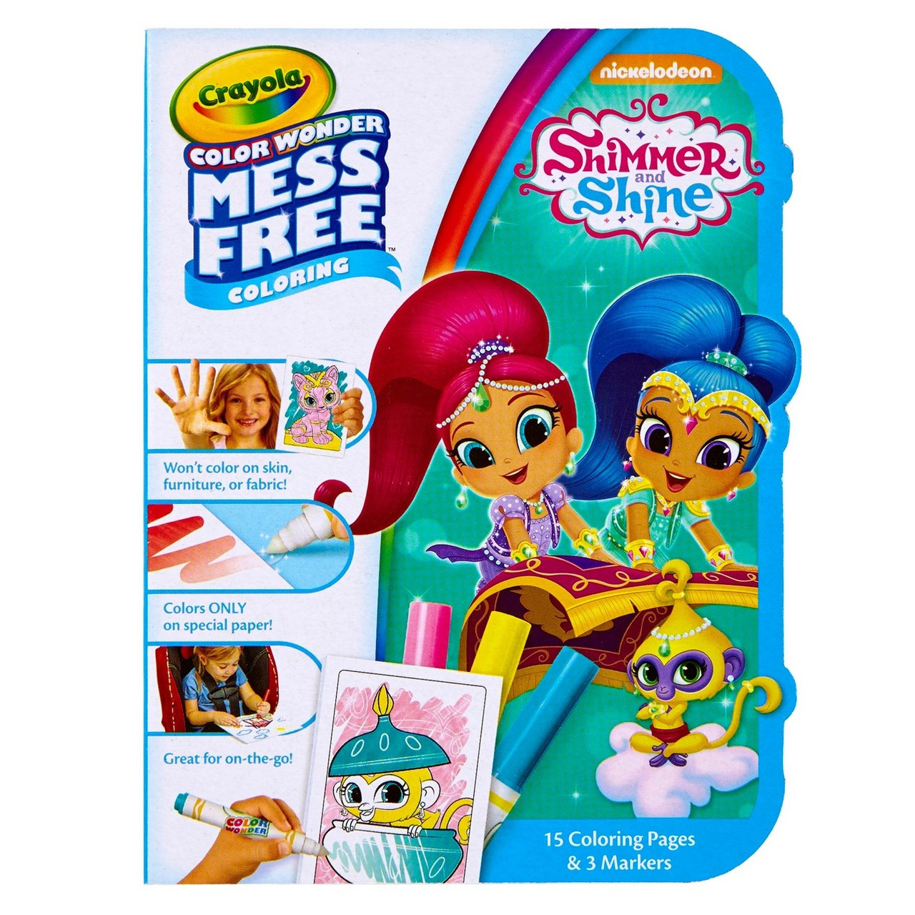 Crayola Color Wonder Coloring Kit Shimmer And Shine