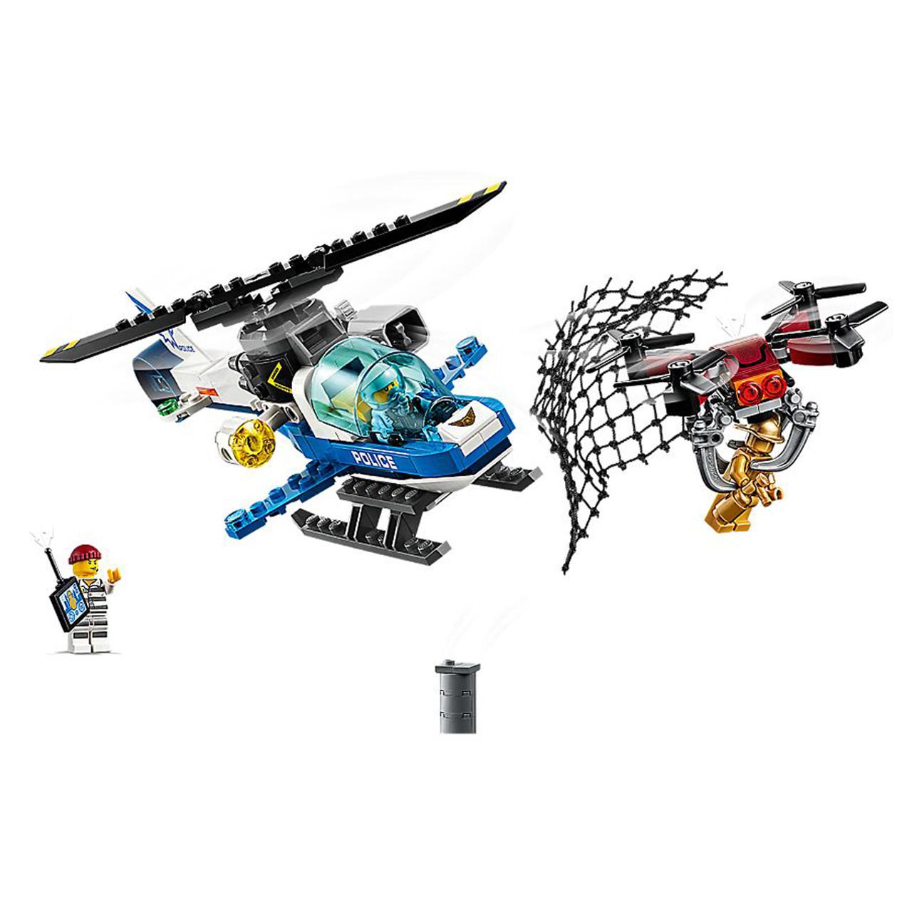 Lego City 60207 Sky Police Drone Chase Purple Turtle Toys Australia