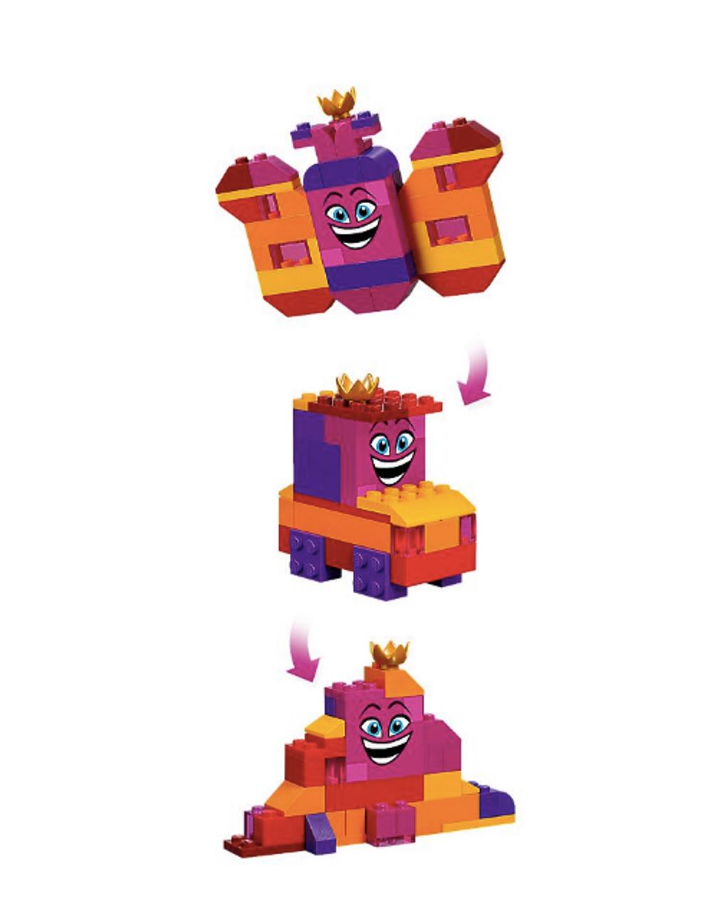 e4ce956bc1d LEGO® Movie 2 Queen Watevra's Build Whatever Box! 70825