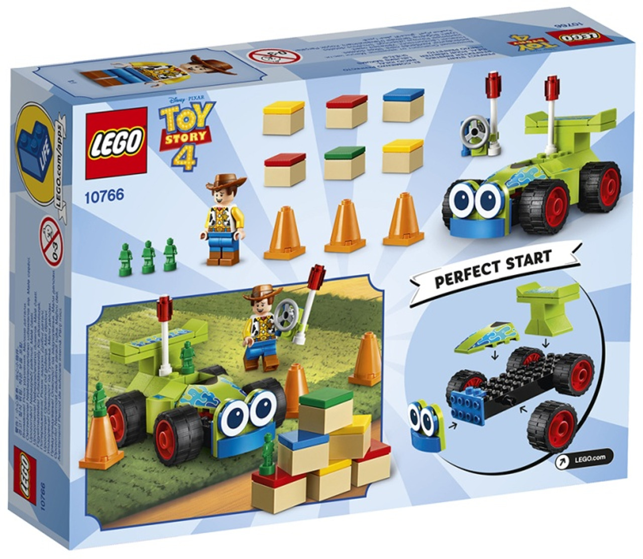 Lego Toy Story 4 Woody Rc 10766