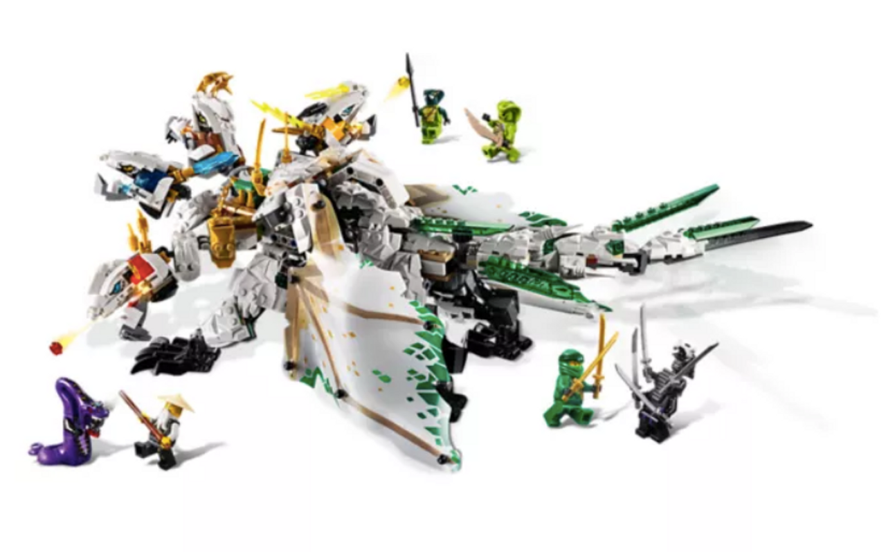 Lego Ninjago 70679 The Ultra Dragon Purple Turtle Toys Australia
