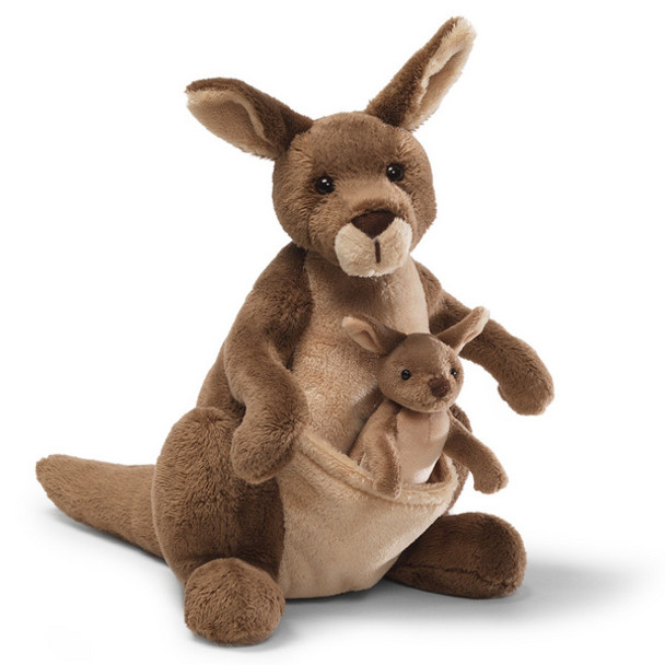 Jirra Kangaroo with Joey by GUND