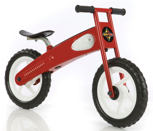 Eurotrike Glide 30cm Balance Bike Red