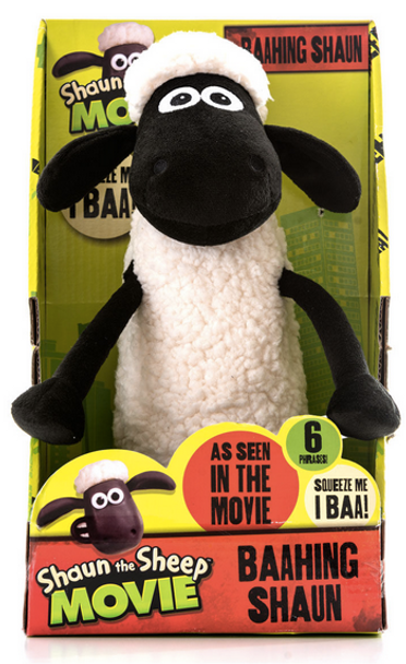 Baahing Shaun the Sheep