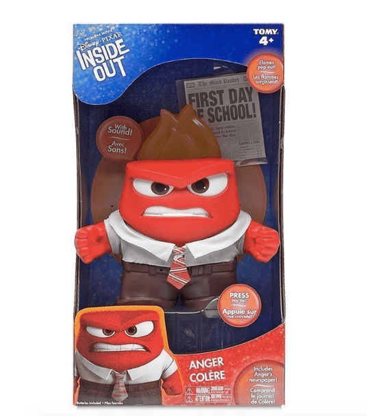 Inside Out Anger Figure