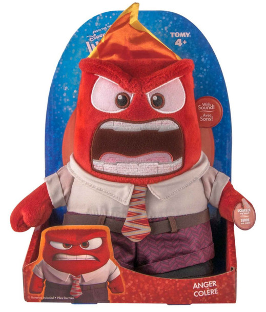 Inside Out Anger Feature Plush