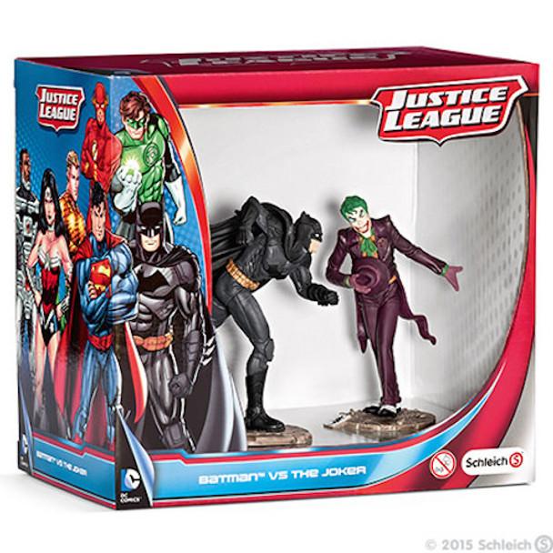 Batman vs Joker Justice League Scenery Pack by Schleich