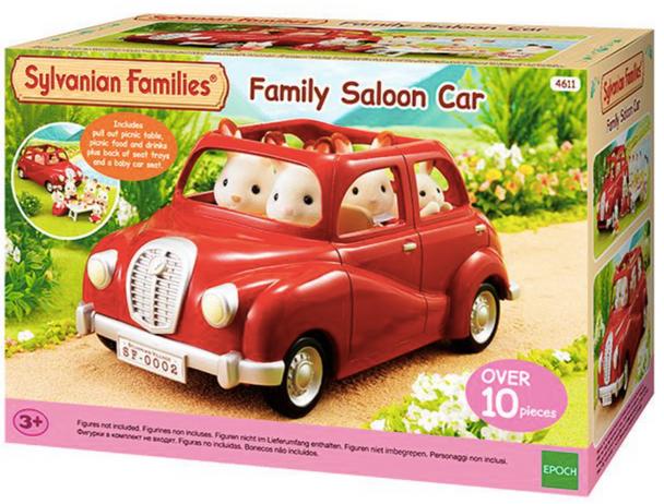 Sylvanian Families Red Saloon Car (SF4611)