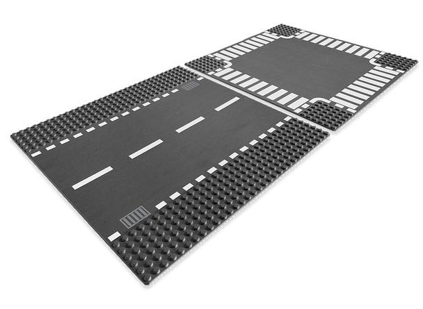 LEGO Straight & Crossroad Plates