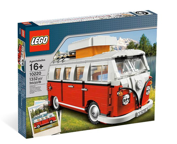 LEGO Volkswagen T1 Camper Van 10220 - rare replica of the classic T1