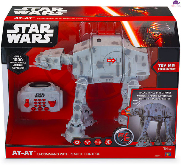 Episode VII The Force Awakens Star Wars AT-AT U-Command with Remote Control and over 1000 action combinations