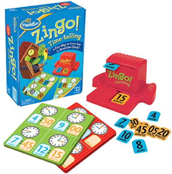 Zingo! Time Telling Game