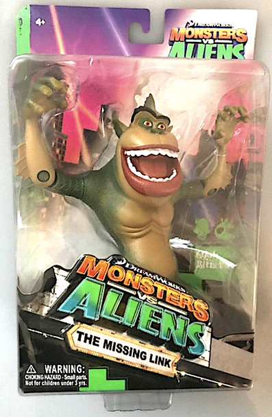 Dreamworks Monsters vs Aliens The Missing Link Action Figure - Damaged Carton