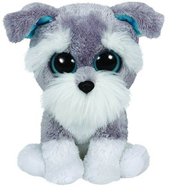 Ty Beanie Boos Whiskers the Schnauzer Dog 36150