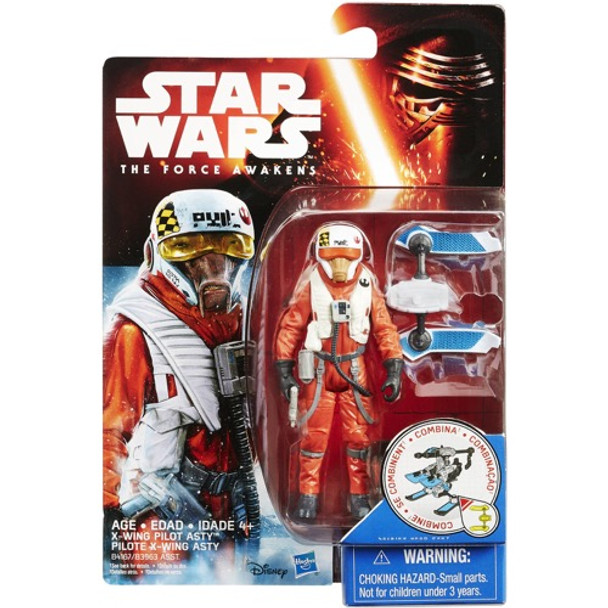 Star Wars Episode VII X-Wing Pilot Asty 9 cm Action Figure by Hasbro