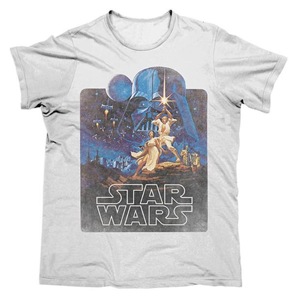 Star Wars Men's Retro T-Shirt