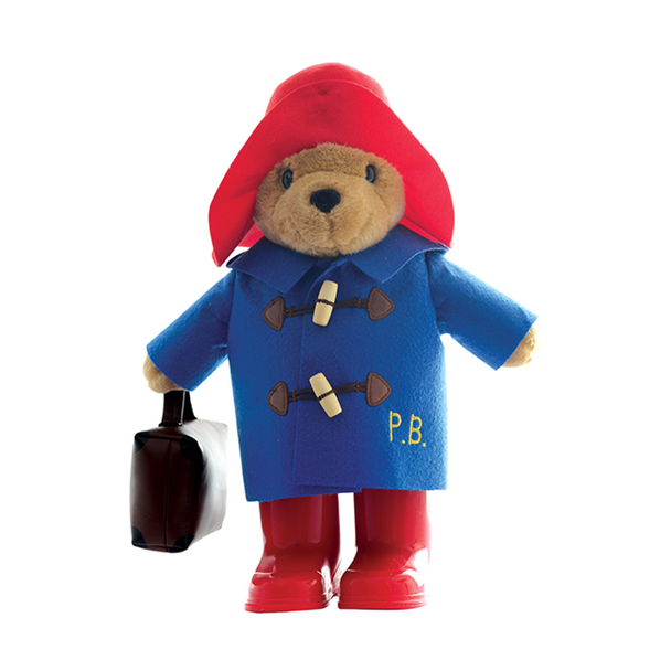 Paddington Bear in Boots with Suitcase - 34cm