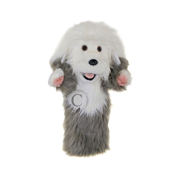 Old English Sheep Dog - Long Sleeved Glove Puppet