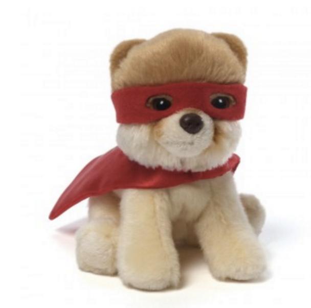Itty Bitty Super Boo - Superhero Dog by GUND