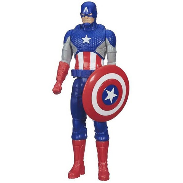 "Captain America - 12"" Titan Hero Series by Hasbro"
