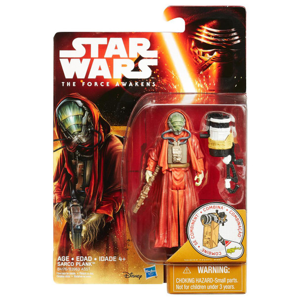 Star Wars VII Sarco Plank 3.75-inch Action Figure by Hasbro