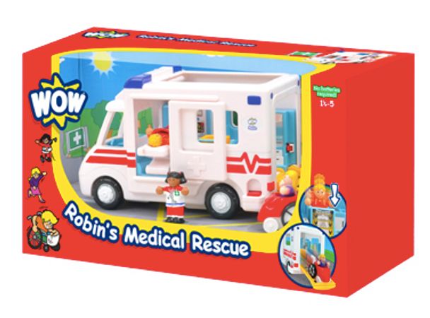 Robin's Medical Rescue by WOW Toys