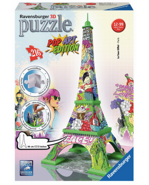 Eiffel Tower 3D Puzzle by Ravensburger