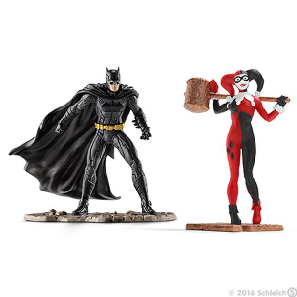 Schleich - Batman vs Harley Quinn Scenery Pack