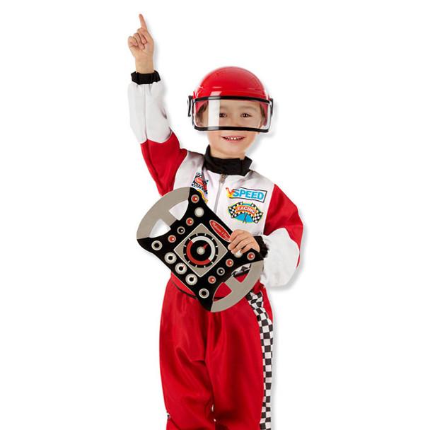 Melissa & Doug F1 Race Car Driver Costume Set