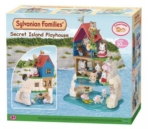 Sylvanian Families - Secret Island Playhouse