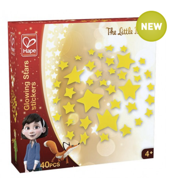 The Little Prince Glow in the Dark Stars by Hape