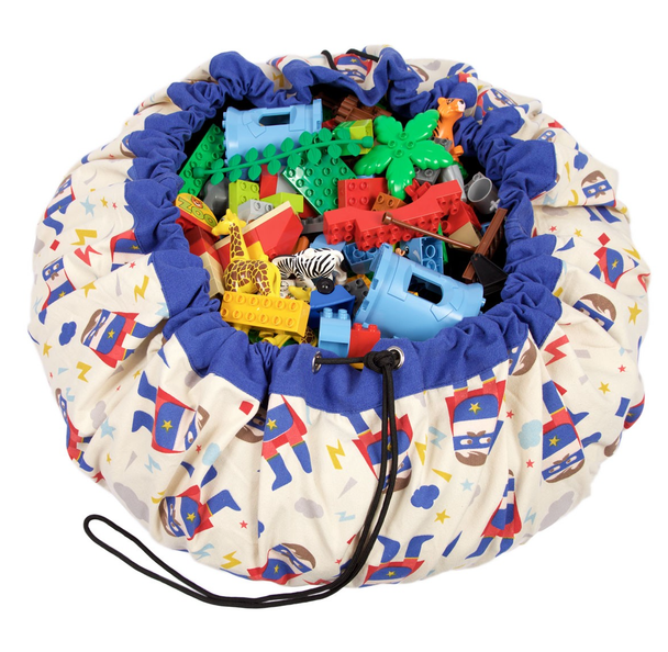 Play & Go Lego Toy Storage Bag in Superhero print