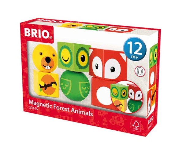 BRIO Magnetic Forest Animals