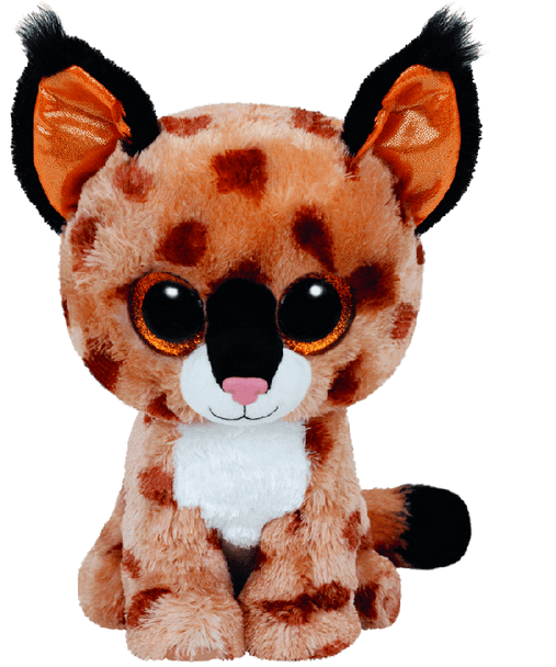 Buckwheat the Brown Lynx (Medium) - TY Beanie Boos