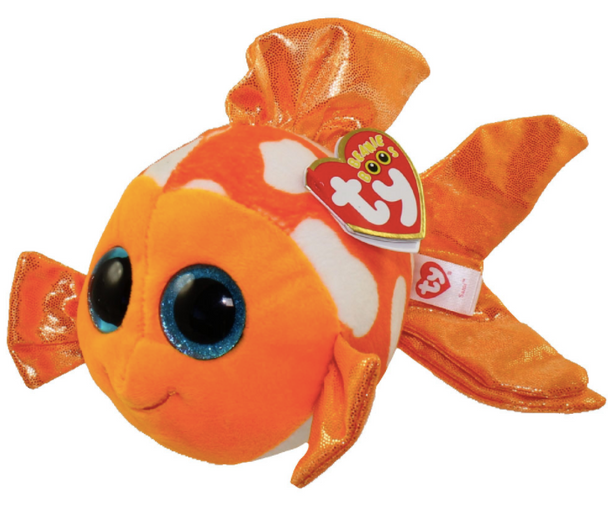Sami the Orange Fish (Medium) - TY Beanie Boos