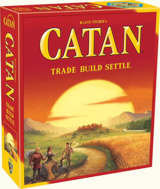 Catan: Trade Build Settle Board Game