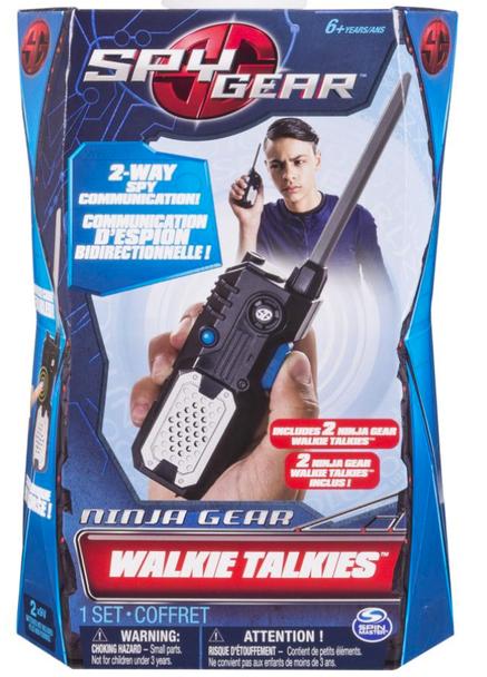 Spy Gear Field Agent Walkie Talkie