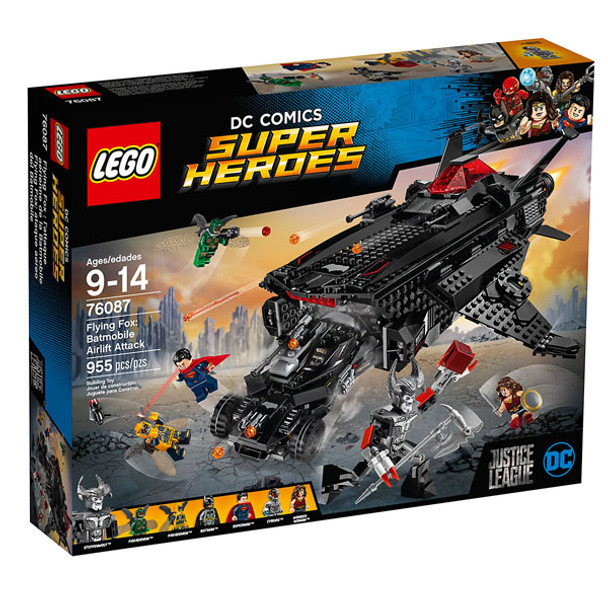 LEGO DC Comics Super Heroes 76087 Flying Fox: Batmobile Airlift Attack