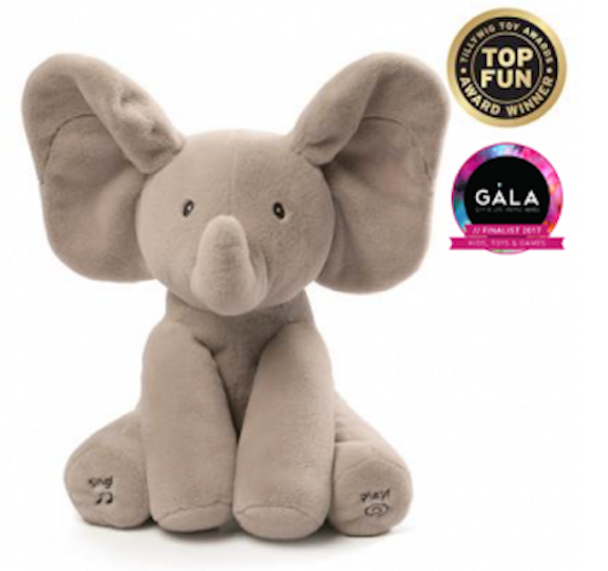 Flappy the Elephant Animated Plush by GUND
