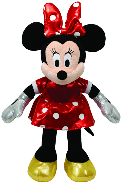 Minnie Mouse Red Sparkle - TY Beanie Babies