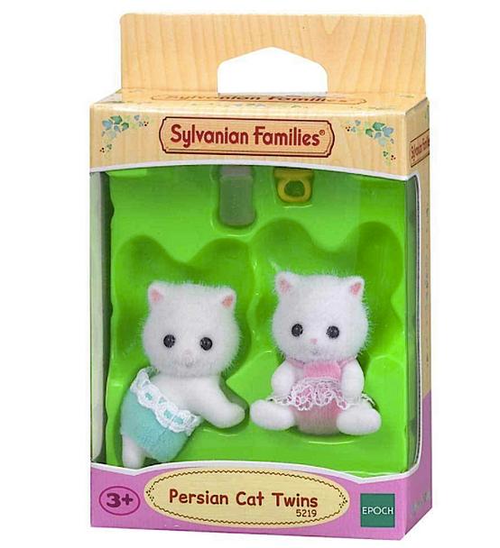 Sylvanian Persian Cat Twins