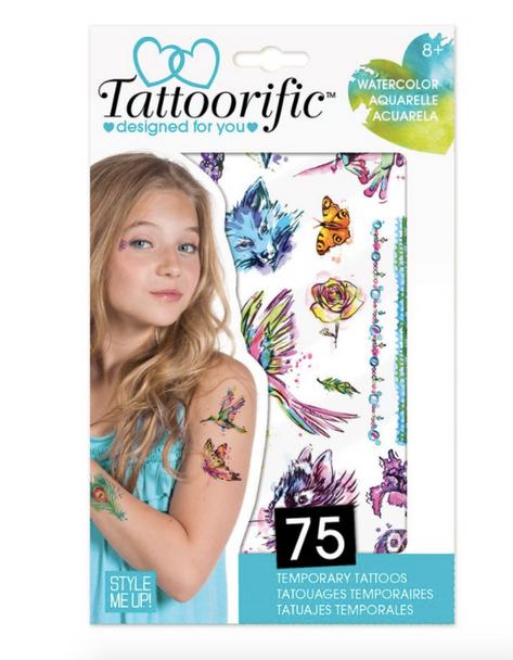 Style Me Up - Tattoorific Watercolour Temporary Tattoos