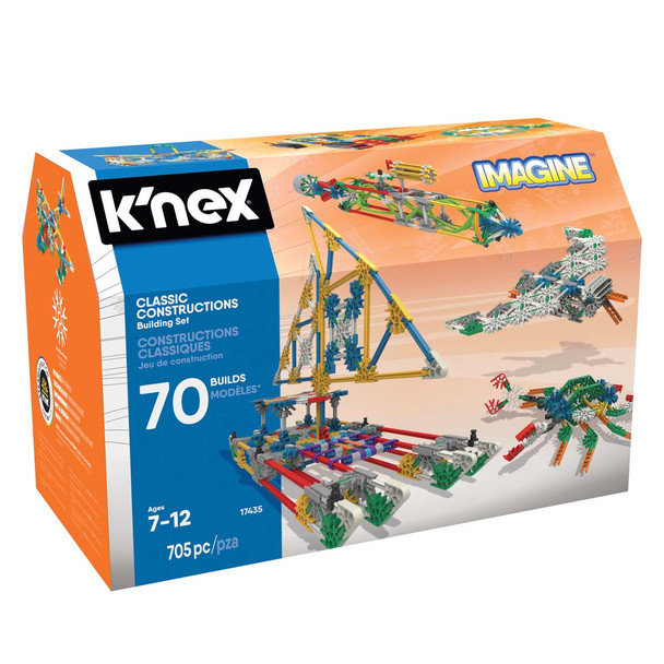 K'Nex Classic Constructions 70 Model Building Set