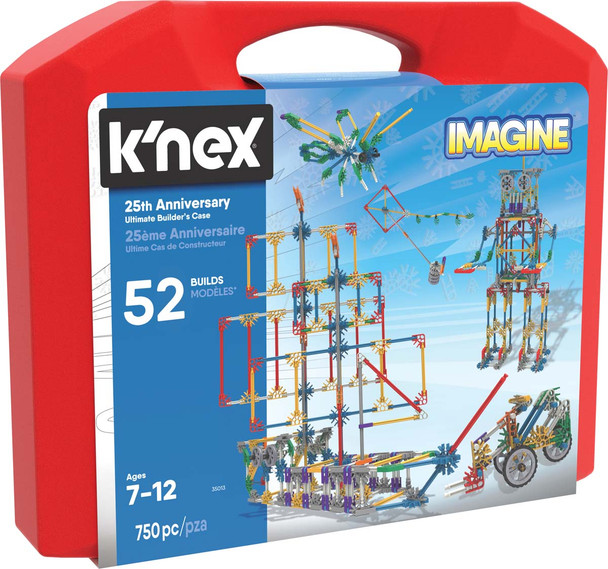 K'Nex 25th Anniversary Ultimate Builders Case