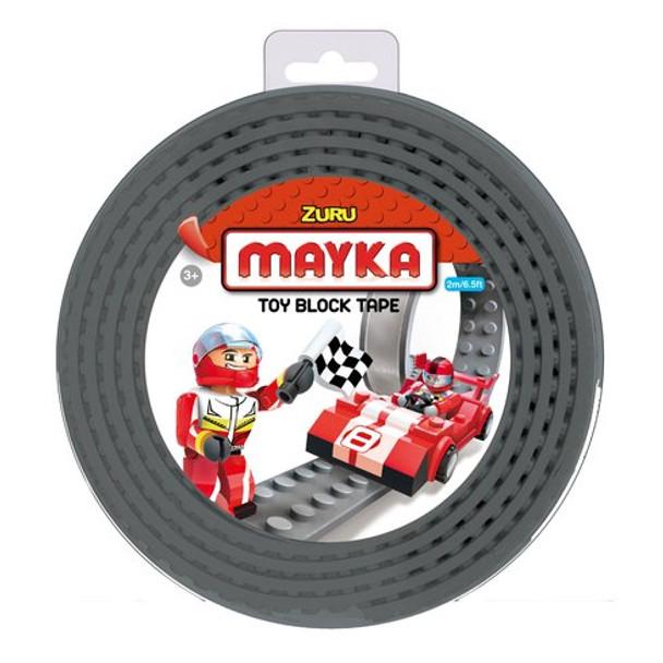 MAYKA Block Tape Grey – 4 Stud Roll 2m