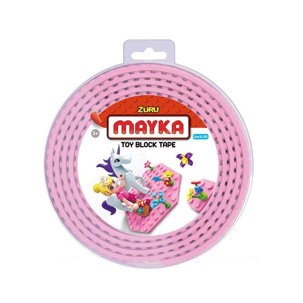 MAYKA Block Tape Pink – 4 Stud Roll 2m
